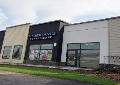 Exterior of dental building