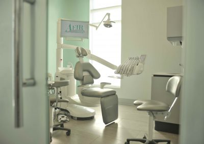 Aeir Dental Clinic customized interior design with modern focus showcases the dental team's dream clinic