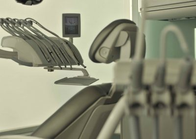 Dental equipment in dental operatory