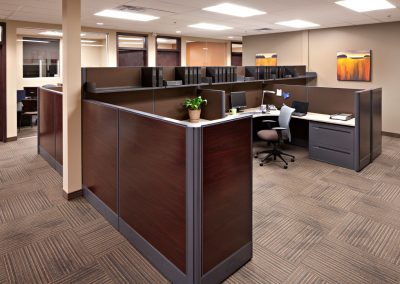 Commercial Office 12 Office System Furniture and Cubicles