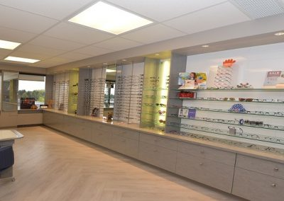 Commercial Office 52 Healthcare Mayfair Eye Care Eyewear Display Cases