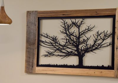 Commercial Office 58 Fitzner Custom Wall Art Tree