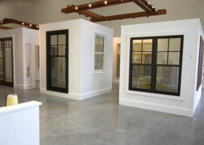 Open concept commercial window gallery