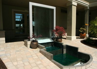 Residential Exterior 11 Custom Outdoor Backyard Fountain