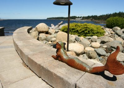 Residential Exterior 35 Landscaping At the Ocean Mermaid Statue