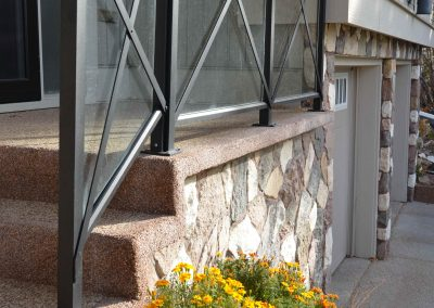 Residential Exterior 9 Glass Railing