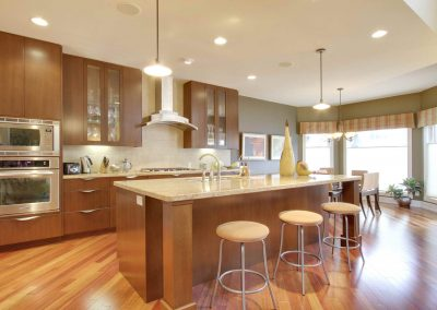Residential Kitchen 13 Modern Design with Large Island