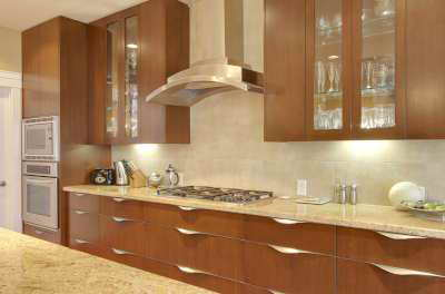 Residential Kitchen 17 Custom Wooden Cabinets