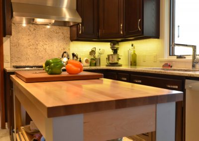 Residential Kitchen 49 Wooden Island