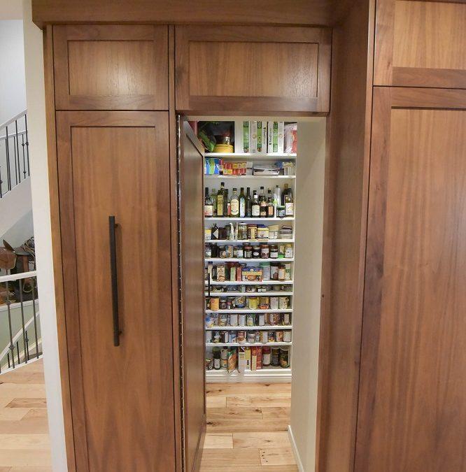 Secret walk-in Pantry