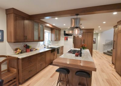 Island Countertop with Butcher Block