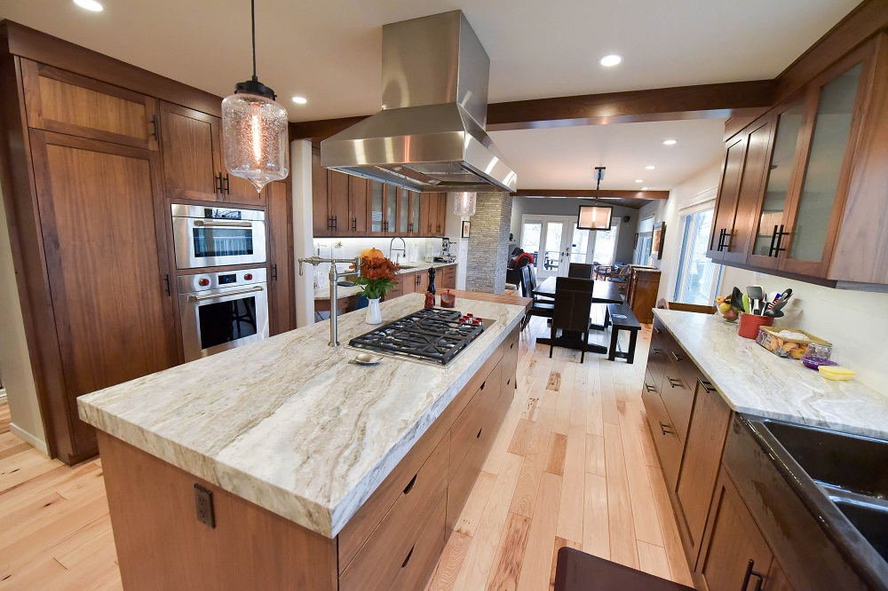 A completed kitchen renovation!