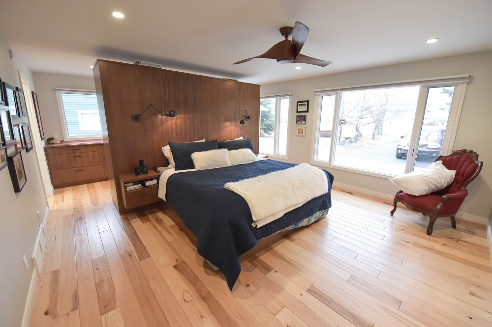 Master bedroom and retreat complete