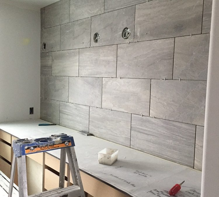 Tiled Wall Feature