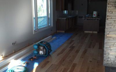 Flooring Begins
